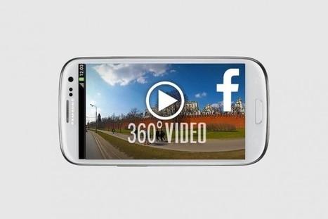 Facebook préparerait une appli pour visionner des vidéos à 360 degrés | Clic France | Scoop.it