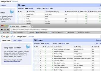 Merging Datasets with Common Columns in Google Refine | Digital Documentaries | Scoop.it