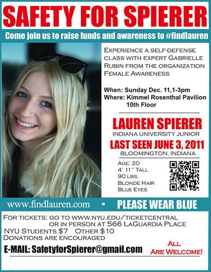 @NewsOnLaurenS Twitter Feed: December events planned to #FindLauren. | Lauren Spierer | Scoop.it