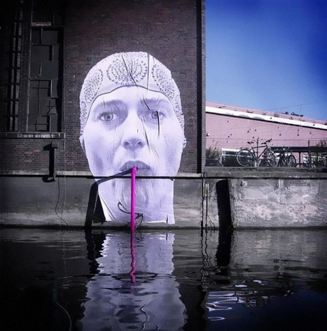 20 works of street art that make you say: how did they even think of this? | Pedalogica: educación y TIC | Scoop.it