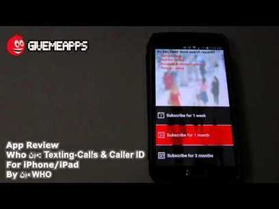 WhoMen:Texting-calls&caller id – Android Apps on Google Play | المجانيات | Scoop.it