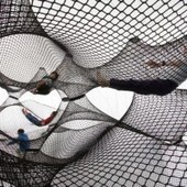 This Death-Defying Sculpture Is a Bouncy Castle for Adults | New Abstract Visual Art | Scoop.it