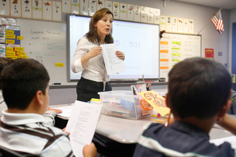 Common Core can help English learners in California, new study says - The Hechinger Report | common core practitioner | Scoop.it