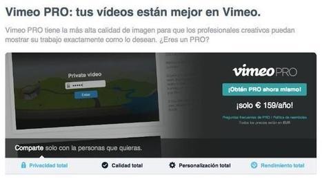 Vimeo se sube al carro del Terabyte, pero sólo en sus cuentas de pago | Desarrollo de Apps, Softwares & Gadgets: | Scoop.it