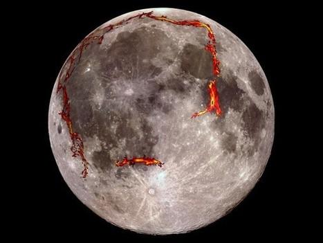 Ancient magma plumbing found buried below moon's largest dark spot   Amazing Science   Scoop.it