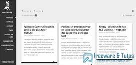 Framabag : une application en ligne de lecture différée pour sauvegarder des articles à lire plus tard | Veille et bibliographie | Scoop.it