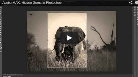 Creative Designs : Adobe MAX: Hidden Gems in Photoshop | Graphic Design | Scoop.it