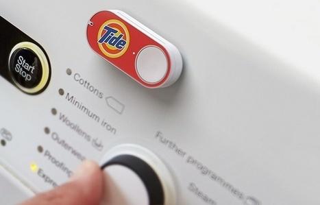 VIDEO. Amazon lance des boutons connectés pour commander des produits ménagers | Toulouse networks | Scoop.it