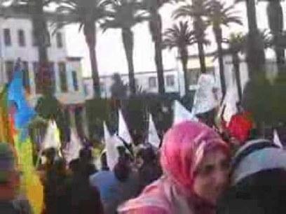 فبرايريون وراديكاليون في احتجاجات للأساتذة المقصيين | كلامكم | Scoop.it