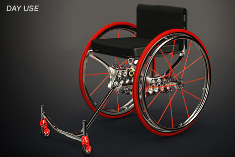 Cross Trainer Wheelchair - The Morphable Manual Wheelchair | Wheelchairs | Scoop.it