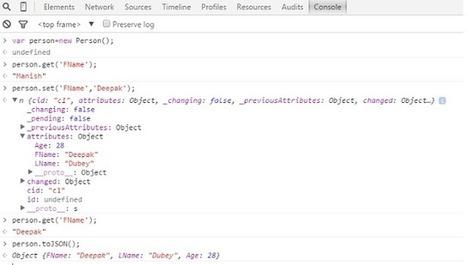 Backbone.js – Basic Understanding of Model - CodeProject | javascript node.js | Scoop.it