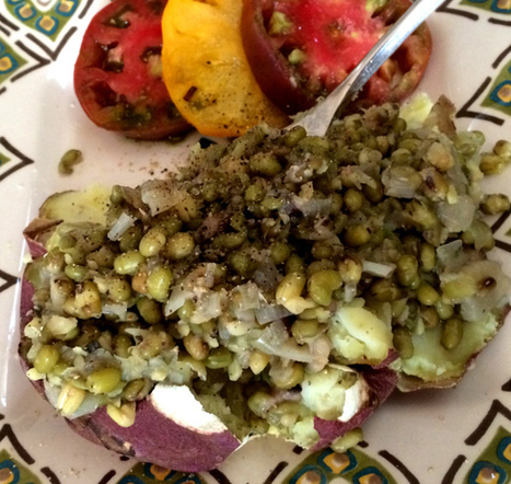 Meatless Monday: Mushroom Mung Beans - JL goes Vegan | My Vegan recipes | Scoop.it
