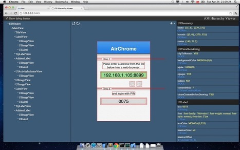iOS Hierarchy Viewer For Easier User Interface Debugging And Tweaking | ios | Scoop.it
