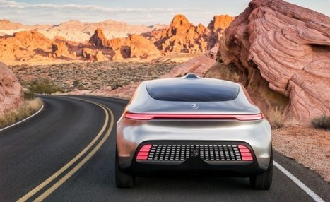 Mercedes-Benz F 015 Luxury in Motion Research Vehicle - Tech Diggers | Technology News and Reviews | Scoop.it