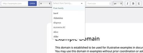 Font Fit. Tester des polices différentes sur un site – Best Outils | Les outils du Web 2.0 | Scoop.it