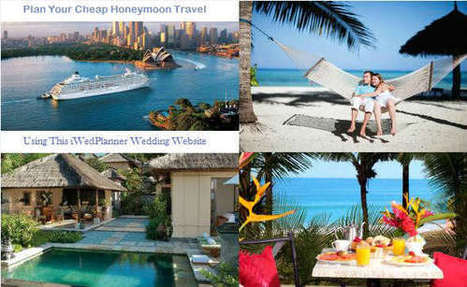 How To Plan A Cheap Honeymoon   Celebrate and plan   Scoop.it