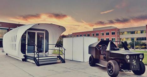 AMIE : la maison imprimée 3D alimentée par une voiture | mobile, digital and retail | Scoop.it