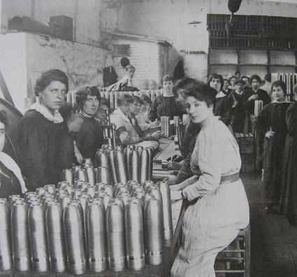 Les femmes pendant la Premiére Guerre Mondiale | Première guerre mondiale et travail des femmes | Scoop.it