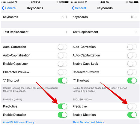 How to Disable Predictive Text in iOS 9 on iPhone and iPad | iPhone and iPad How-tos | Scoop.it