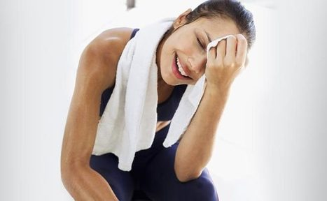 Your Sweat can spread Happiness - Study finds - Psychology and I | The Study of HAPPINESS | Scoop.it