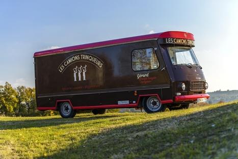 #VerresdeContact dit Tchin-tchin!! @latrinquette11 Les Camions Trinqueurs, bar à vins ambulant ! | Verres de Contact | Scoop.it