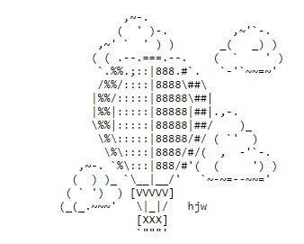 ASCII Art—Vehicles—Balloons | ASCII Art | Scoop.it