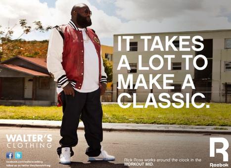 Egéries I Le rappeur Rick Ross plonge Reebok et Adidas dans la tourmente | Branding News & best practices | Scoop.it