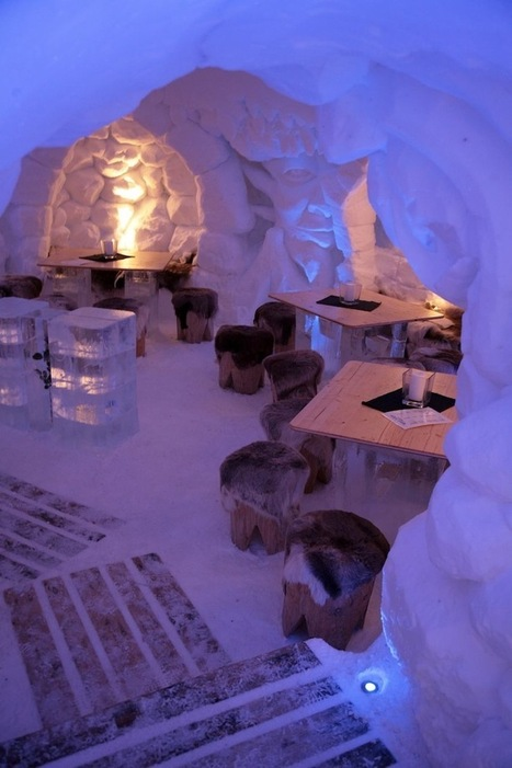 Faces Pop Off the Walls Inside Germany's Incredible Ice Hotel | Luxury Hotels | Scoop.it