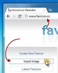 Comment créer un Favicon pour votre site ! | Time to Learn | Scoop.it