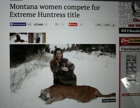 """Extreme Huntress"" and hunting's flimsy facade 