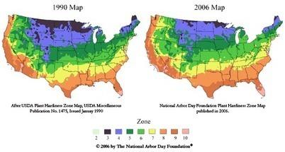 New USDA Hardiness Zones: Climate Change Quantified | Restorative Developments | Scoop.it
