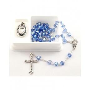 Sapphire Heart Rosary Set | Catholic Jewelery | Scoop.it