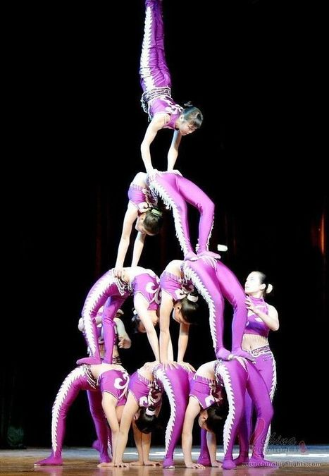 Chinese Acrobatics, the Acrobatic Art in China | La Magia de la Opera China | Scoop.it