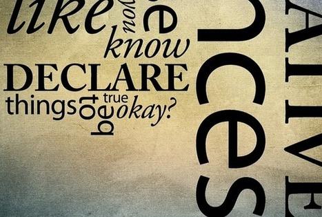 L'histoire de la typographie, expression de mots et d'idées visuelles | Documentation | Scoop.it