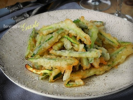 Zucchine in Pastella alla birra senza uova | La Cucina Italiana - De Italiaanse Keuken - The Italian Kitchen | Scoop.it