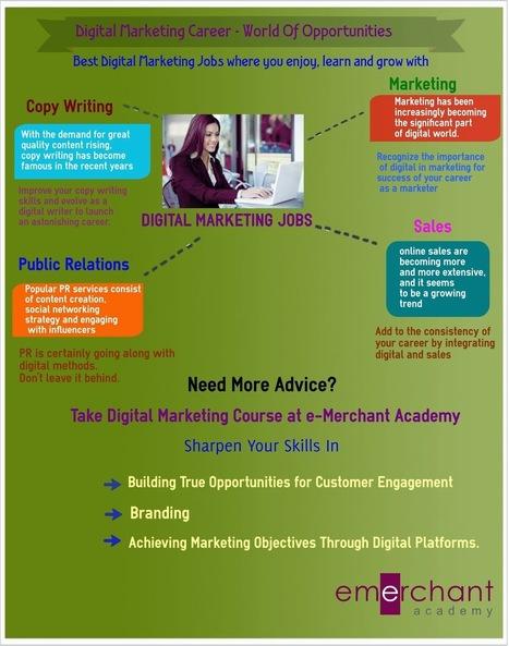 e-Merchant Digital Solutions Pvt. Ltd: Land Your Career in Digital Marketing | Digital Marketing | Scoop.it