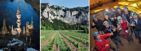 Oenotourisme en Ardèche méridionale: dégustations au centre de la terre | Le vin quotidien | Scoop.it