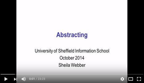 Abstracting: the difference between the major types of abstract | web learning | Scoop.it