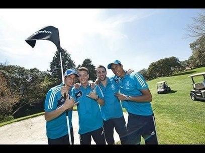 Quand les stars du Real Madrid se mettent au Footgolf !!!   Amazing golf shots   Scoop.it