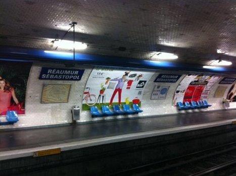 Campagne BHV dans le métro parisien : la fausse bonne idée | QRdressCode | Scoop.it