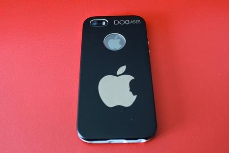 Funda de aluminio iPhone 5/5S con la manzana mordida por Steve Jobs (Review)   Reviews iPhone iPad accesorios   Scoop.it