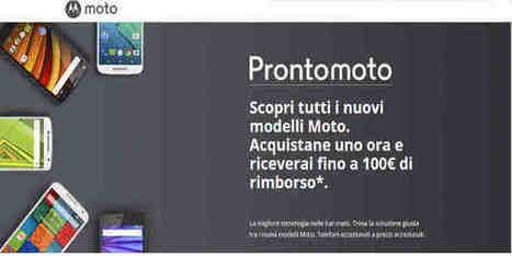 Promozione Motorola: Risparmia dai 30 ai 100 Euro | Recensioni e Opinioni Sui Tablet - Compraretech | Scoop.it