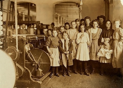 9 eye-opening images of immigrants and child labor in the early 1900s. | Pedalogica: educación y TIC | Scoop.it
