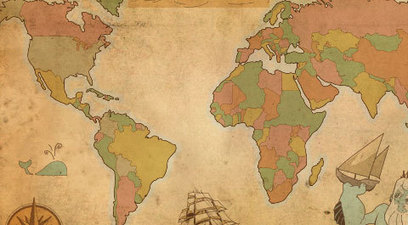 All Free Vector World Maps (AI, EPS, SVG) | Banco de Aulas | Scoop.it