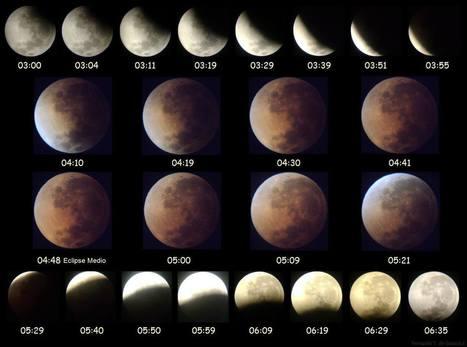 Hora y ubicación para ver el eclipse lunar esta noche - Taringa! | Lo que no sabias | Scoop.it