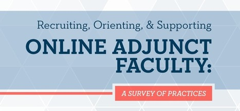 The Learning House Online Adjunct Faculty Report: A Survey of Practices | iEduc | Scoop.it