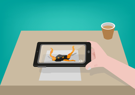 5 apps to jump-start augmented reality in the classroom | Soup for thought | Scoop.it