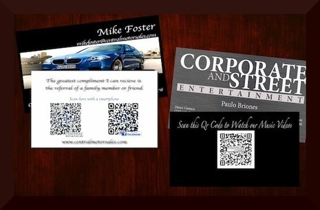QRCODE_Business_Cards | QR CODE Advertising | Scoop.it