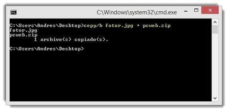 10 Simples Pasos: Ocultar Cualquier archivo dentro de una imagen | PCWebtips.com | Windows PC - Trucos y Tips | Scoop.it