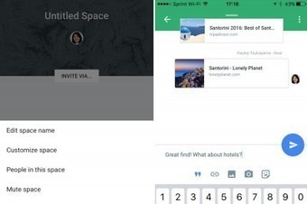 Spaces app: part chat program, part social network | STEM Connections | Scoop.it